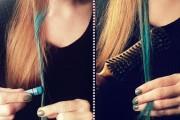coloration cheveux éphémère