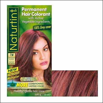 Couleur cheveux bio rouge