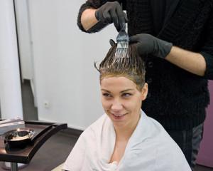 Jolie coloration cheveux coiffeur