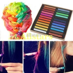Mode pour femme : coloration cheveux craie