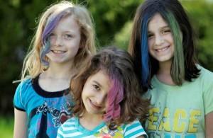 Tendance : coloration cheveux craie