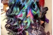 coloration cheveux craie