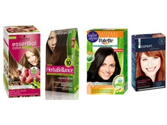 Exemple coloration cheveux domicile