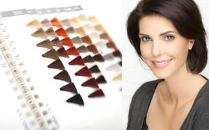 Mode pour femme : coloration cheveux domicile
