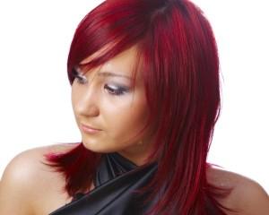 Modèle coloration cheveux femme