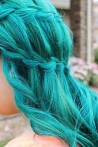 Inspiration coloration cheveux flashy