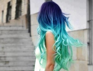 Tendance : coloration cheveux flashy