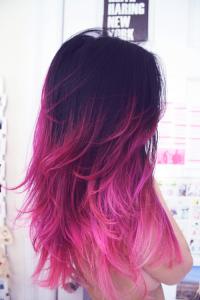 Quelle coloration cheveux flashy