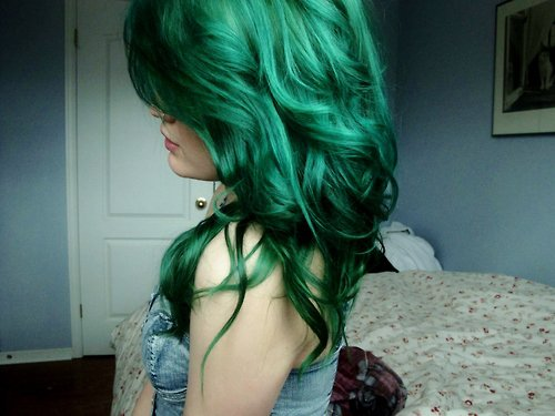 coloration cheveux flashy