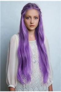 Inspiration coloration cheveux lavande