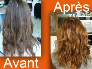 Modèle coloration cheveux naturelle