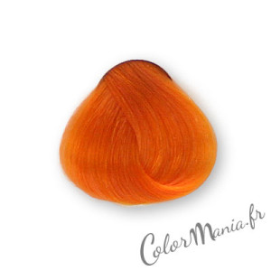 Modèle coloration cheveux orange