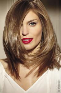 Jolie coloration cheveux tendance