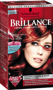 Modèle coloration cheveux ultra brillante