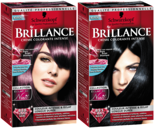 Mode pour femme : coloration cheveux ultra brillante