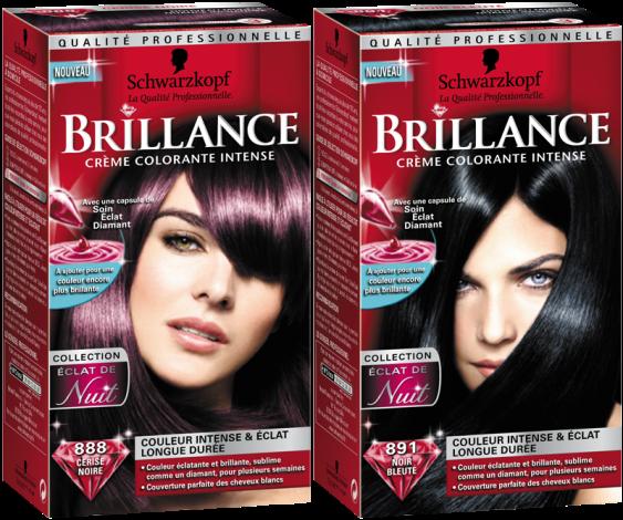 coloration cheveux ultra brillante