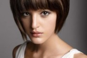 coloration cheveux un brun glossy