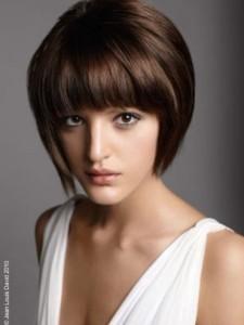 Jolie coloration cheveux un brun glossy