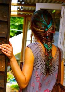 Inspiration coloration cheveux une journée