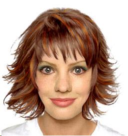 Inspiration coloration cheveux yeux gris