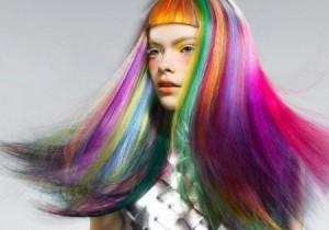 Mode pour femme : couleur cheveux flashy