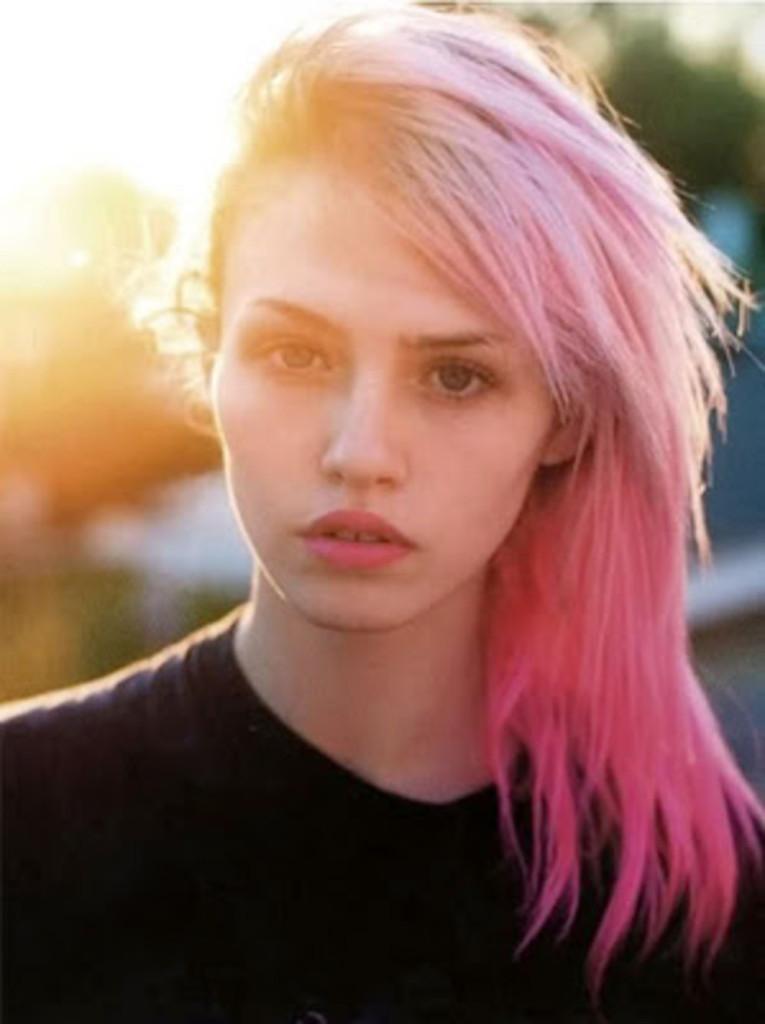 couleur cheveux flashy