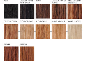 Belle couleur cheveux froide pour femme
