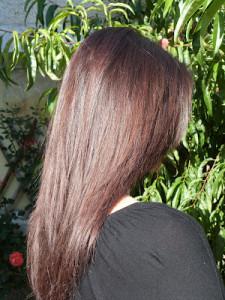 Tendance : couleur cheveux gloss
