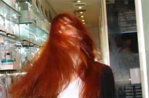 Exemple couleur cheveux henné