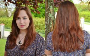 Belle couleur cheveux henné pour femme
