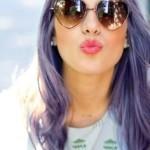 couleur cheveux lavande