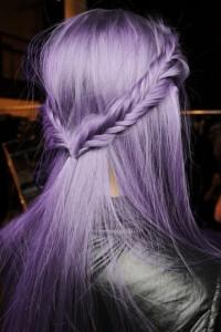 Idée couleur cheveux lavande