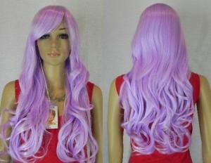 Belle couleur cheveux lavande pour femme