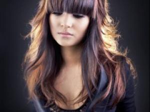 Belle couleur cheveux mode 2014 pour femme
