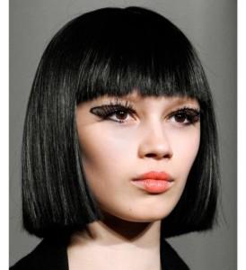 Jolie couleur cheveux noir
