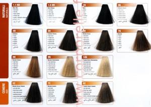 Tendance : couleur cheveux nuancier