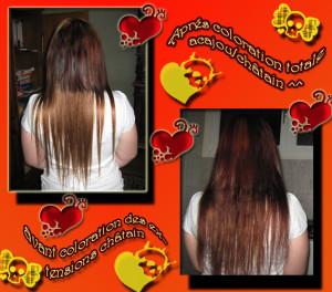 Idée couleur cheveux pas cher