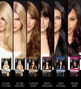 Inspiration couleur cheveux pas cher
