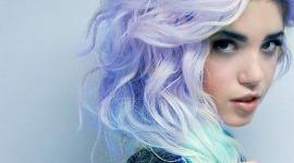 Idée couleur cheveux rose pastel