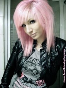 Quelle couleur cheveux rose pastel
