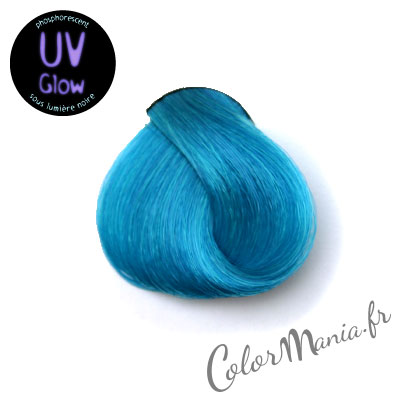 Belle couleur cheveux uv pour femme - Coloration cheveux bleu ...