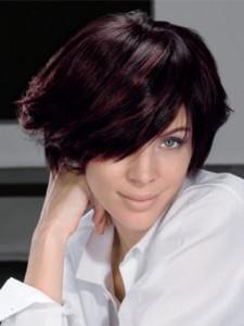 Exemple couleur cheveux violet foncé
