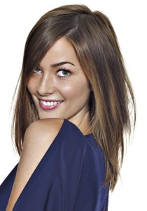 Jolie coloration cheveux été 2014