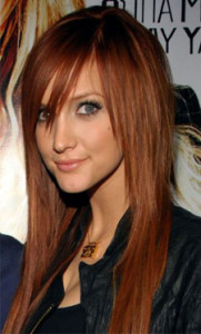 Inspiration coloration cheveux auburn