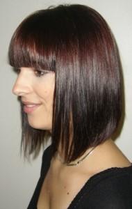 Belle coloration cheveux chocolat pour femme