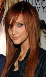 Exemple coloration cheveux cuivré