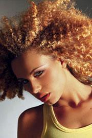 Exemple coloration cheveux défrisés