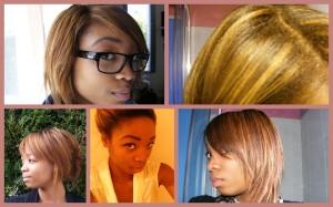 Idée coloration cheveux défrisés