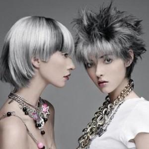 Mode pour femme : coloration cheveux en gris