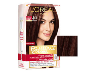 Idée coloration cheveux excellence loréal